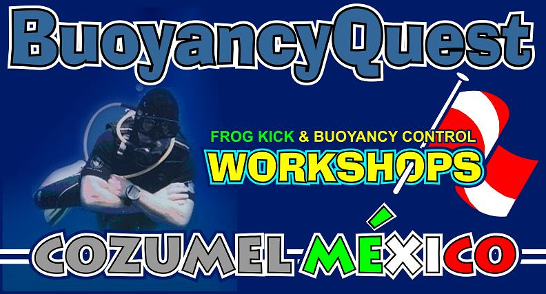 FROG KICK & Buoyancy Skills WORKSHOPS