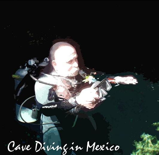 JOHN NOFTALL CAVE DIVING IN MEXICO