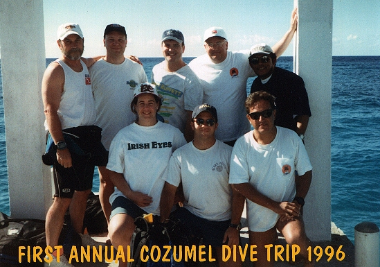 THE FIRST GROUP TRIP 1996